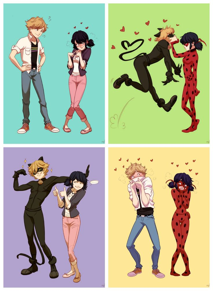 Ladynoir in all it's glory (LOL chat) (Miraculous Ladybug, Adrinette, Marichat, Ladrien)