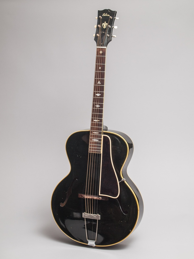 1946 Gibson L-4 black in excellent condition. This is an unusual and very & 13 best Guyatone images on Pinterest | Vintage guitars Guitars and ...