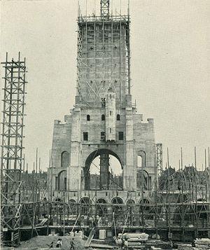 STADHUISBOUW Nov. 1916 Uit Rotterdamsch Jaarboekje 1917. Redacteur Dr. E. Wiersum