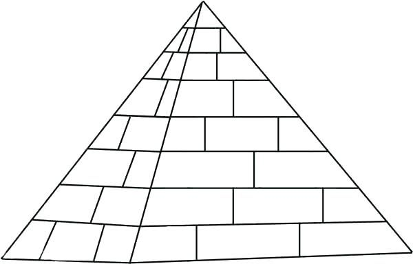 Giza Pyramid Coloring Page Geometric 2384238743274 Drawings Kids Free Love Geometric Pyramids Coloring Pages Pyramids Egypt