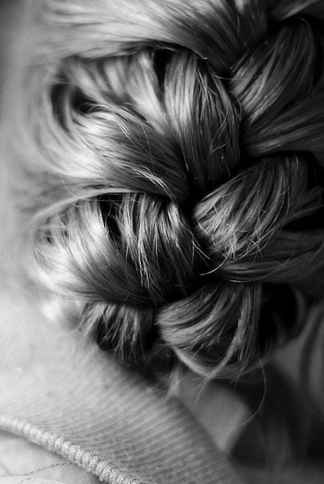 (originally spotted by @Ozelluql ): French Braids, Hairstyles, Hair Styles, Makeup, Beauty, Updo