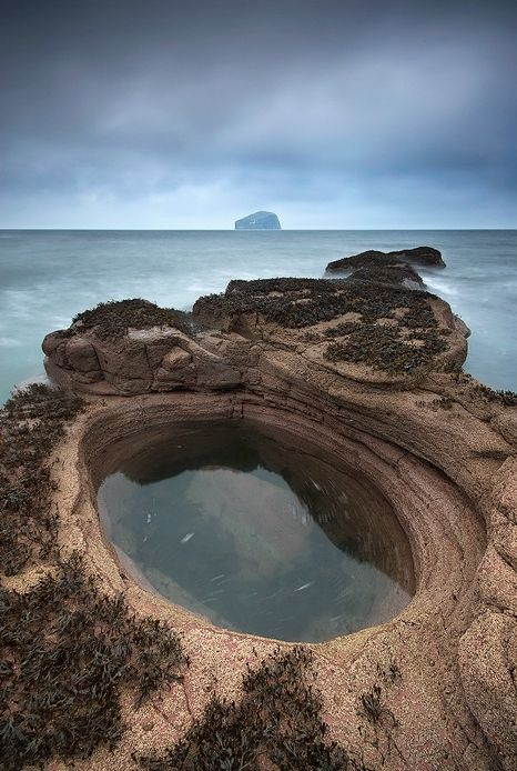 North Berwick, Scotland..Only an hours drive from home,this is where we go to let the wind blow away the cobwebs, have a picnic and let our grandsons go rock pooling
