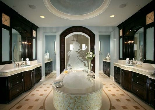 Large Bathroom Designs Interesting 1455 Best Beautiful Bathrooms Images On Pinterest  Bathrooms Decorating Design