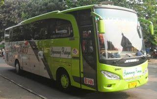 rute dan tarif bus gapuraning rahayu