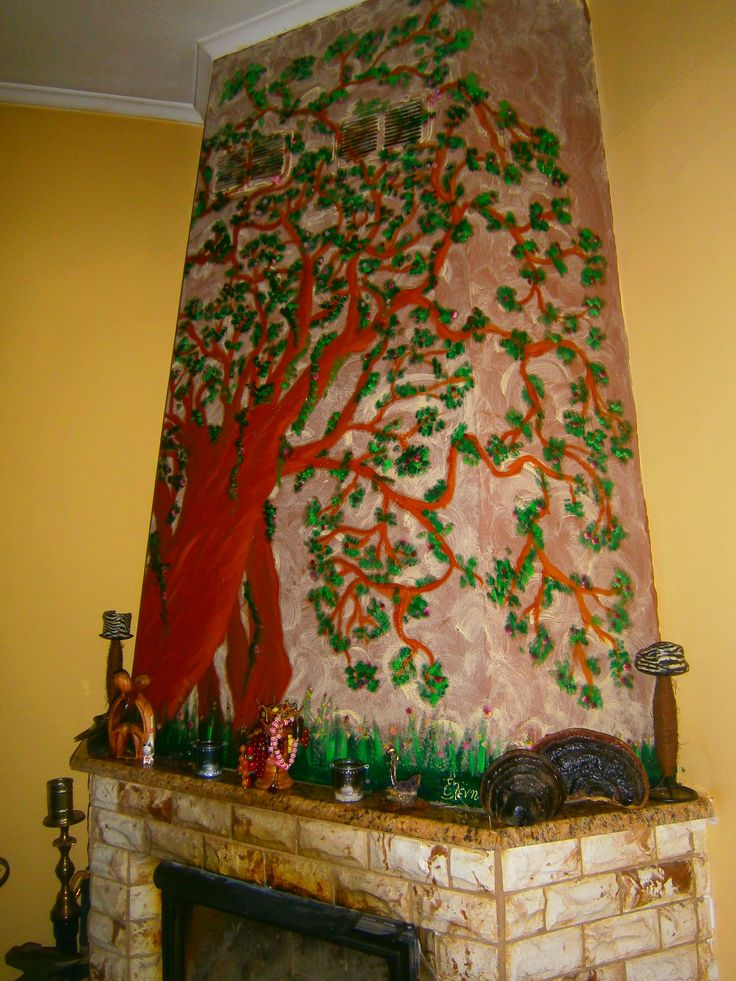 painting my fireplace..