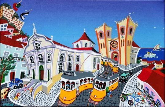 Lisboa, Igreja Santo António e Sé
