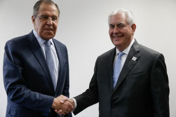 Andrew V. Pestano Feb. 16 (UPI) -- U.S. Secretary of State Rex Tillerson had his first meeting with Russian Foreign Minister Sergey Lavrov…
