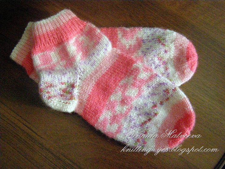 Вязание - моё  хобби: Держим ножки в тепле