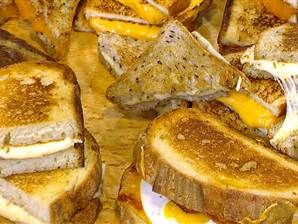 Matt Fish, owner of program restaurant Melt Bar and Grilled gave a cheesy grilling demo on The Today Show.