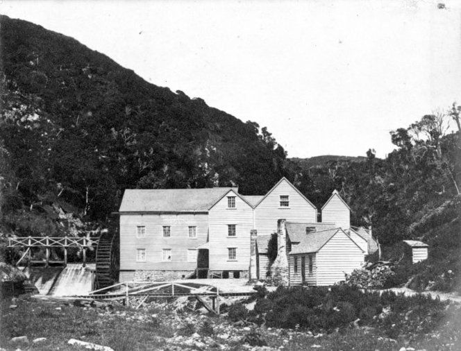 Kaiwharawhara flour mill, Wellington