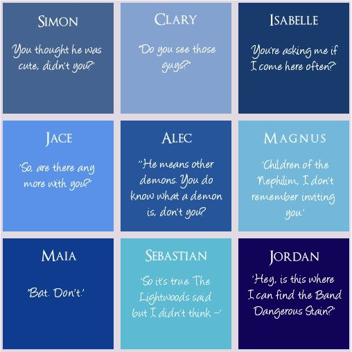 Genius. First words spoken by the Characters. #TMI