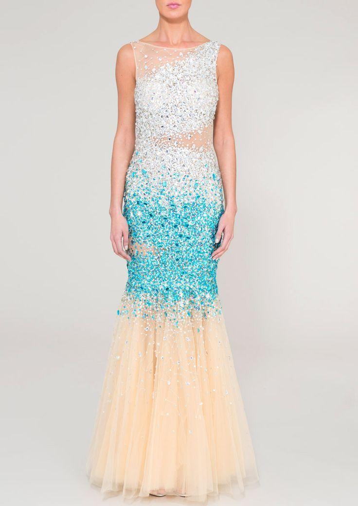 JAZZ - Blue sparkly dress
