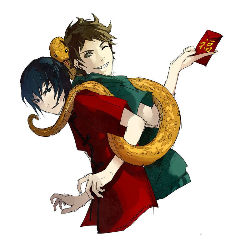 Year Of The Snake by yuumei.deviantart.com on @deviantART ...