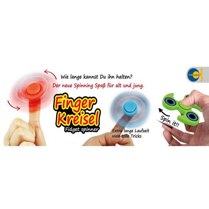 De rage van dit moment: De Fidget Spinner. Last van stress? Vind je het leuk om dingen door je handen en vingers te laten draaien, dan leef je je vast helemaal uit met deze coole fidget spinner.
