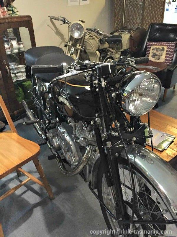 Moto Vecchia Cafe in Bellerive ~ photo and article for think-tasmania.com ~ #Tasmania #Italian #Gnocchi #Cooking #Class #Bellerive #Motorcycle