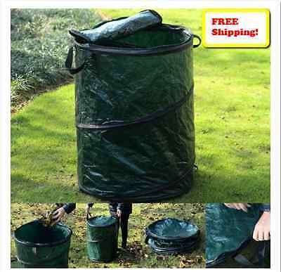 Collapsible trash can outdoor pop up garbage party bins camping hiking events hiking camping - Collapsible trash bins ...