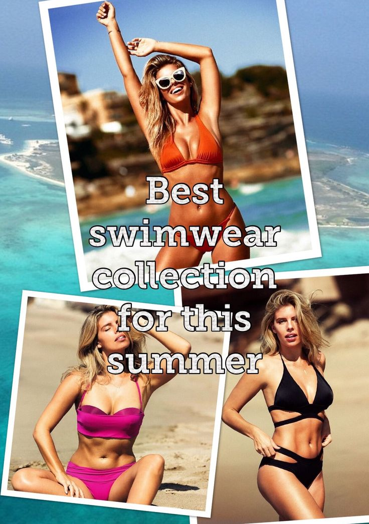 BEST SWIMWEAR COLLECTION FOR THIS SUMMER For all shapes and styles enjoy this summer with beautiful options and have fun! Blog www.gochicbygigro.com instagram gochic_by_gigiro