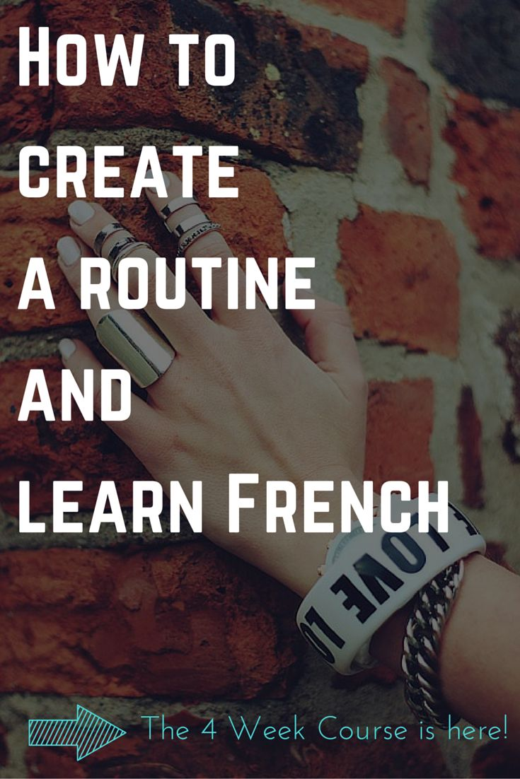 A Program to learn French online and create a great language learning routine. Constant progress from any level from beginners to advance. Learn French grammar, verbs, conjugation, tense, syntax with the 4 Week Course