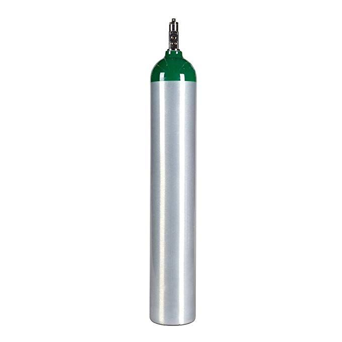 Medical Oxygen Cylinder With Cga870 Post Valve E Size 24 1 Cf Me Review Oxygen Cylinder Cylinder Oxygen Tanks