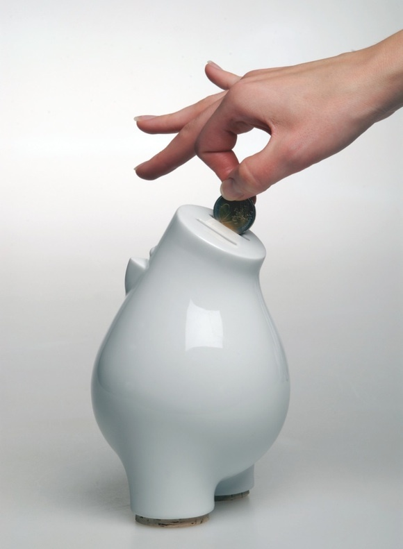 How old were you when you got your first piggy bank? Money BoxCeramic  ClayHandmade CeramicModern ...
