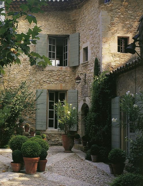 European house by Things That Inspire, via Flickr
