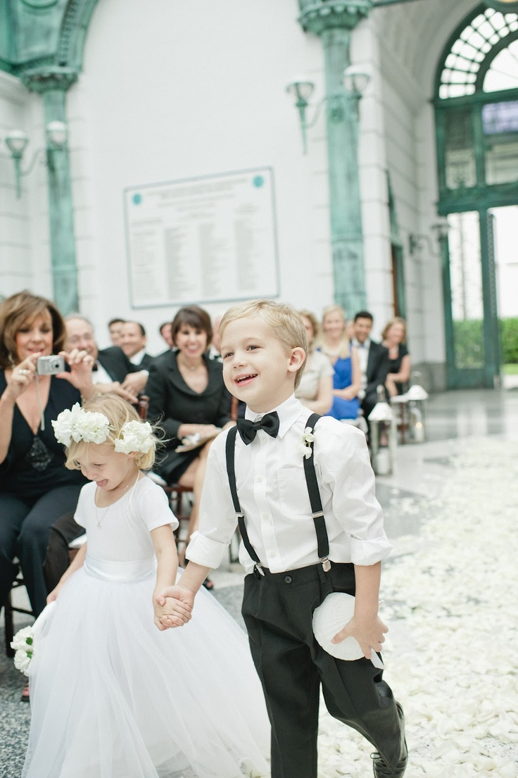 458 best Adorable Flower Girl & Ring Bear Ideas images on ...
