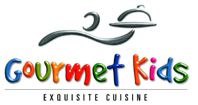 Gourmet Kids logo a trademark of Gourmet Direct developed during Richmond ownership in the 1990's.  Used for Kids Cooking work shops.