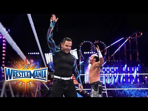 Matt & Jeff Hardy make a shocking return to WWE: WrestleMania 33 (WWE Network Exclusive) - YouTube
