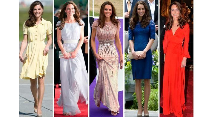 Style Kate Middleton - Putri Inggris Ini Pernah Pakai Celana Jeans dan Sneakers…