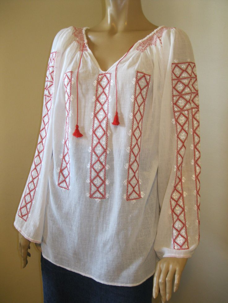 Best images about romanian blouses beautiful hand