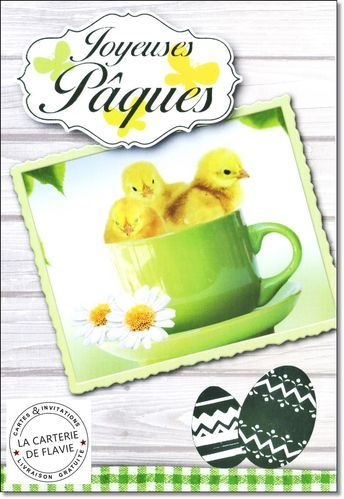 #Carte #Pâques  Cartes Joyeuses Pâques, livraison gratuite, à retrouver sur notre site: http://lacarteriedeflavie.com/cartes-Joyeuses-Paques