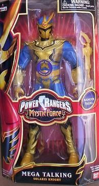 "New in Box Power Rangers Mystic Force 12"" Talking SOLARIS KNIGHT Action Figure. $42.99"