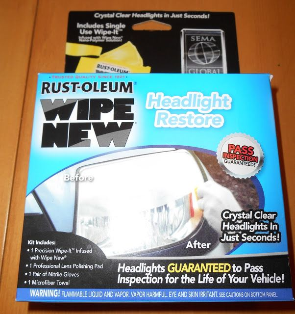 Little Homestead in Boise, DIY headlight restoration review