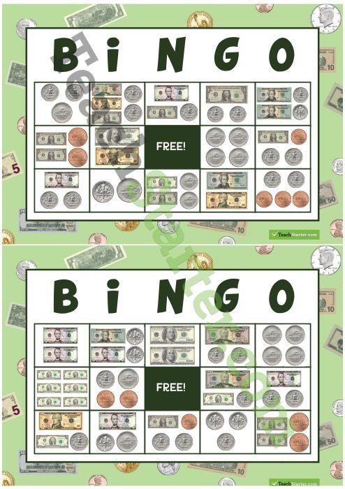 best 25 money bingo ideas on pinterest coin values bingo for money and teaching money. Black Bedroom Furniture Sets. Home Design Ideas