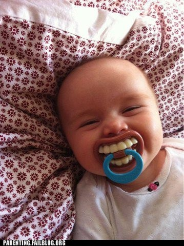 toothy pacifier.
