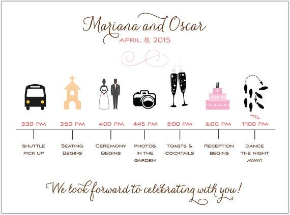 Best Wedding Timeline Images On   Weddings Wedding