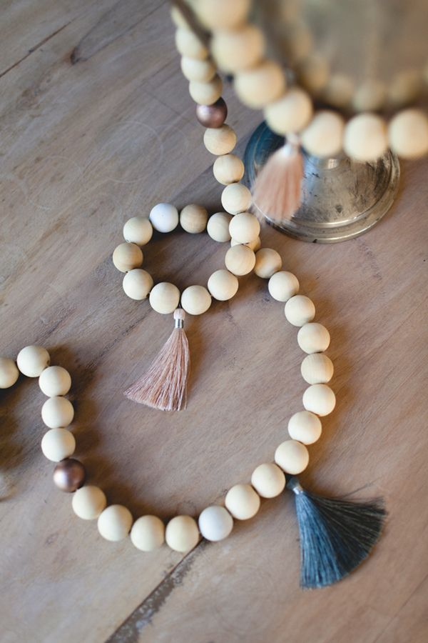 Pearl Bead Garland For Christmas Tree