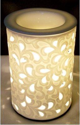 ELECTRIC OIL BURNER - FLOWER SWIRL  http://www.scentchips.com.au/E18647::244564:Electric-Burner---Classic-Flower