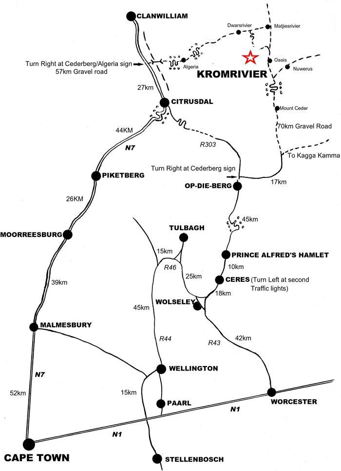 Kromrivier Cederberg Tourist Park