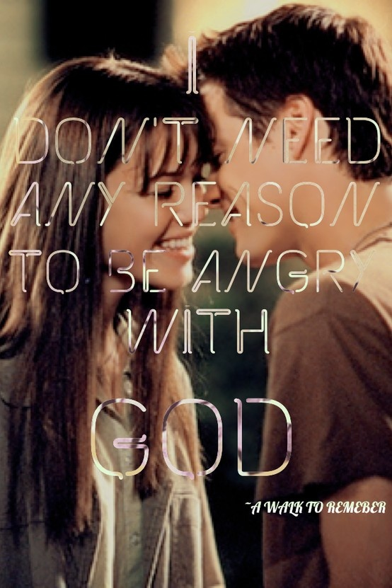 a walk to remember quotes - photo #8