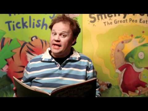 Justin Fletcher reads Smelly Peter The Great Pea Eater.