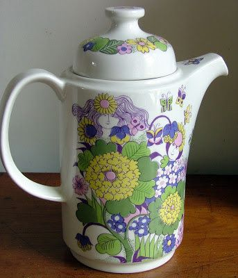 coffeepot ´Victoria´ designed by Turi Gramstedt Oliver for Figgjoin the late 60s.