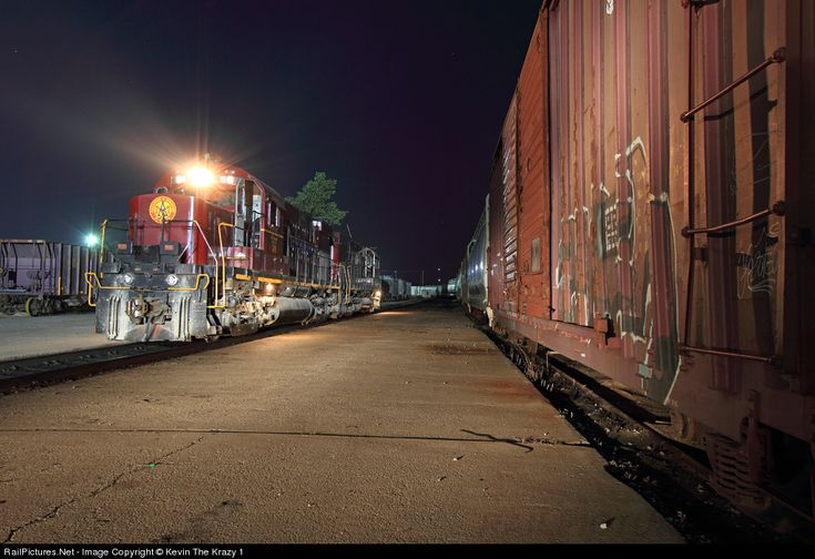 RailPictures.Net Photo: AM 56 Arkansas & Missouri Railroad Alco C420 at Fort Smith, Arkansas by Kevin The Krazy 1
