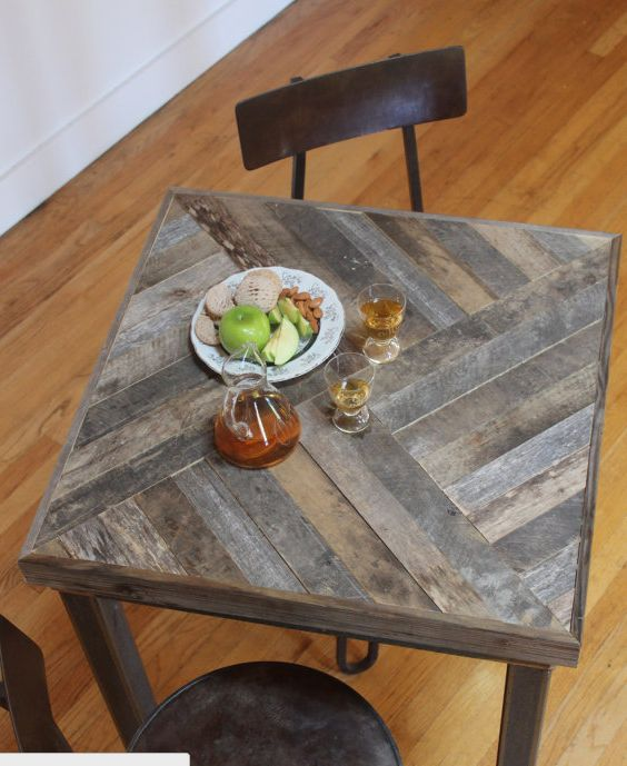 Find this Pin and more on Pallet Dining Table. Reclaimed Pallet and Barn  Wood ... - 25+ Best Ideas About Reclaimed Wood Table Top On Pinterest