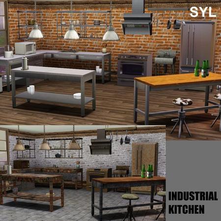 eryt96@TSR - Industrial Kitchen Set #Sims3