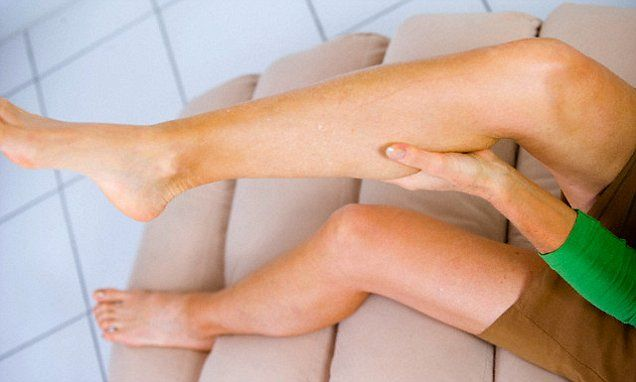 Do YOU get leg cramps at night? Magnesium found in vegetable helps sufferers drift off to sleep
