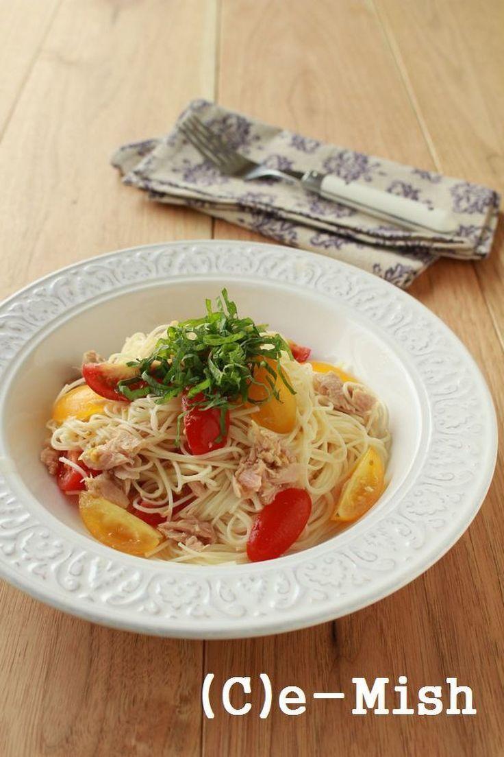 トマトとツナの冷やしそうめん by 柴田真希   レシピサイト「Nadia   ナディア」プロの料理を無料で検索