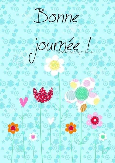 Bonne journée !!!