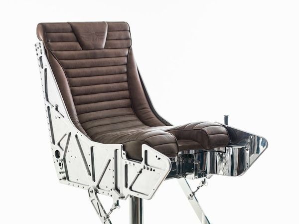 THE TORNADO EJECTOR SEAT RECLINER BY HANGAR 54  tornado-ejector-seat-recliner $13,000 Ejection Seat for your Office