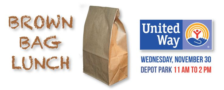 Brown Bag Lunch United Way Cullman County  The United Way of Cullman County is offering a Brown Bag Lunch special on Wednesday, November 30th from 11:00 am to 2:00 pm.  Johnny's BBQ, Carina's Pizza & Grill and Pepsi are sponsoring this event.  For only $10, you get an excellent, mouth watering lunch of a Johnny's Sandwich, Crispy chips, a Carina delicious cookie, and a chilling Pepsi.  Your Brown Bag Lunch will be available for pick-up at 304 1st AVE. NE, Cullman.